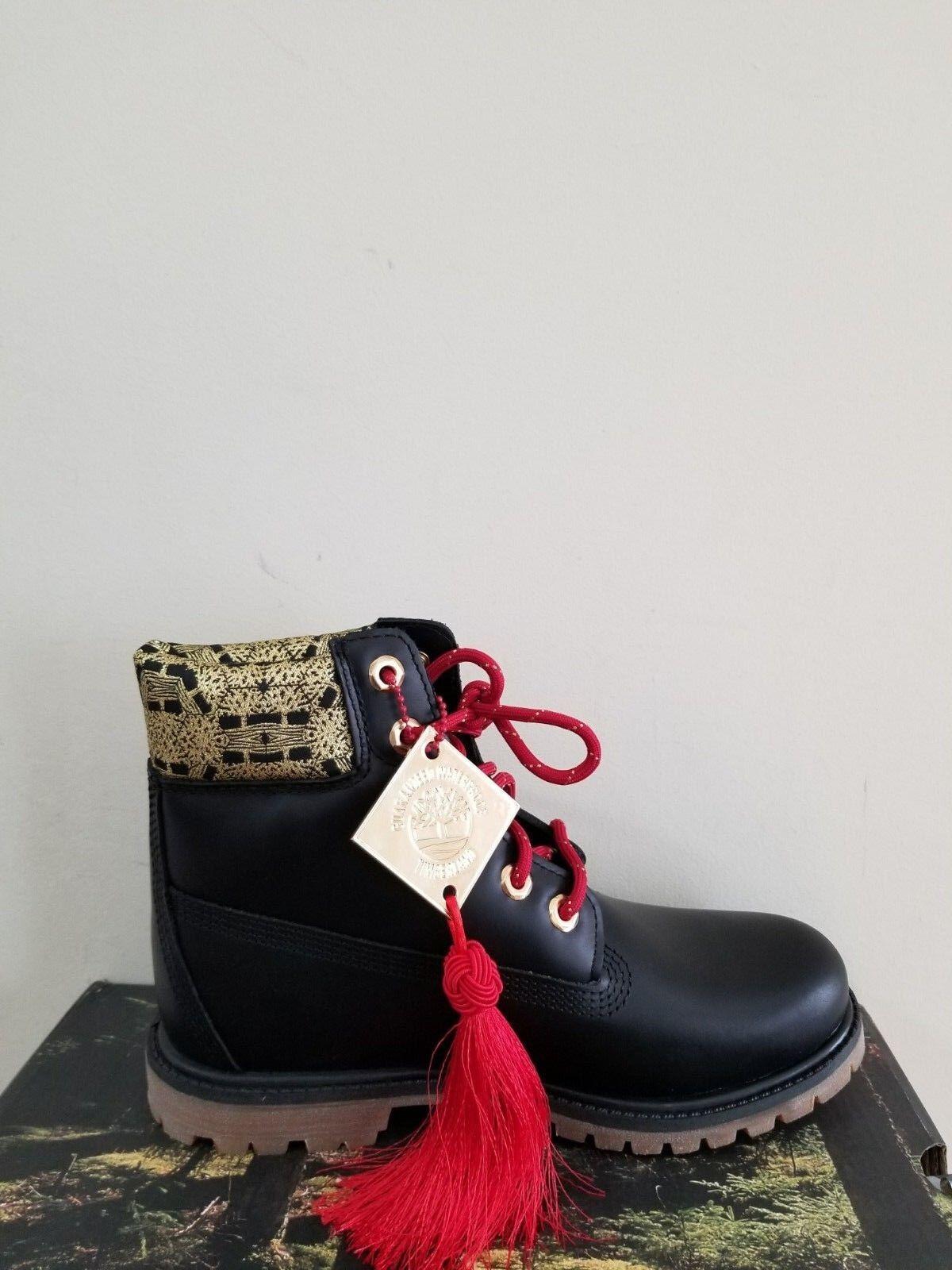 "Timberland Women's 6 inch"" Double Sole Premium Waterproof Boots NIB 1"