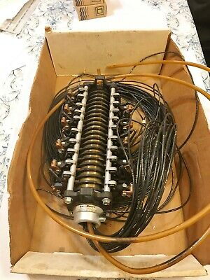 Aero-motive V400210000 Slip Ring Assembly Untested For Parts Repair Free Ship