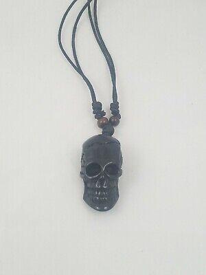 Skull Pendant Necklace  -