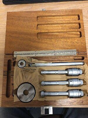 Brown Sharpe Tesa Metric Dial Bore Gage Set 11mm-20mm Range