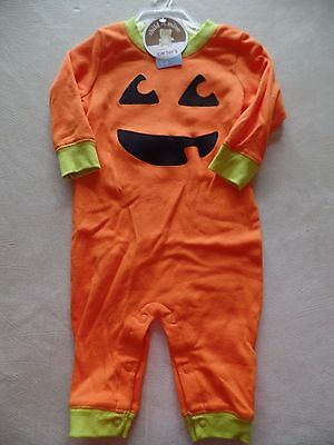 NEW baby boys girls unisex PUMPKIN OUTFIT halloween CARTER'S costume NEWBORN