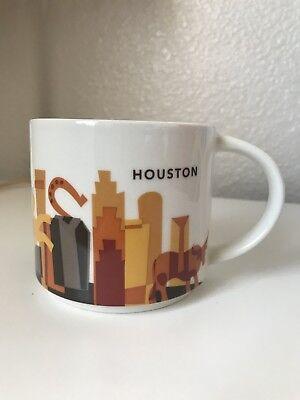- Starbucks Houston Mug You Are Here Series 2015 *EUC*