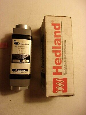 New In Box Badger Hedland Variable Area Flow Meter H761a-020 287