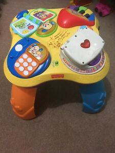 Fisher Price Activity Table for infants and toddlers