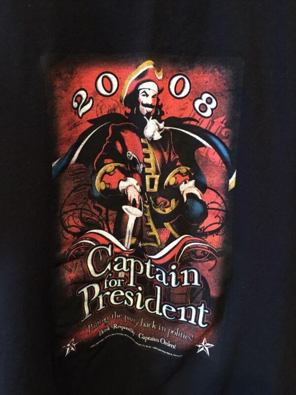 Captain Morgan For President Vtg Mens T Shirt L? XL?