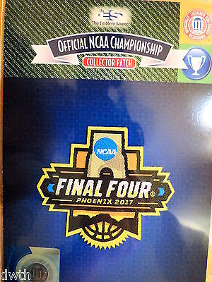 Official Ncaa 2017 Basketball Final Four Patch Unc  Gonzaga  Oregon  S Carolina