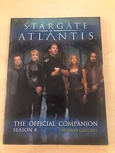 STARGATE ATLANTIS: OFFICIAL COMPANION SEASON 4 By Sharon Gosling