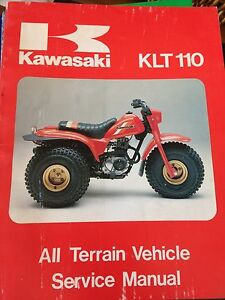 1984 Kawasaki KLT110 Service Manual