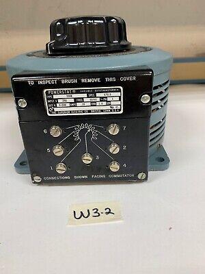 New Powerstat Variable Transformer 236b Bp57515 240120v In 0-280v Out Warranty