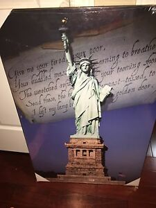 Statue of Liberty a painting  Kitchener / Waterloo Kitchener Area image 1