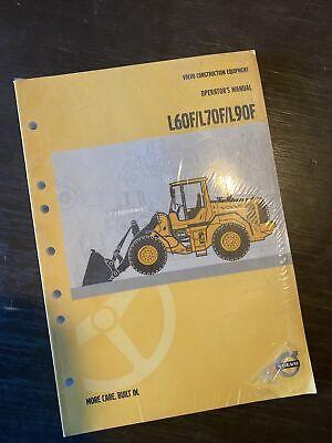 Volvo L60f L70f L90f Wheel Loader Owner Operator Maintenance Manual Book Shop