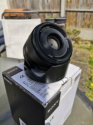 Sony SEL35F18 35mm F/1.8 OSS e mount Lens