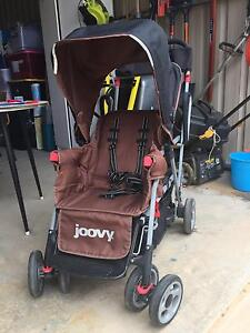 Joovy Caboose Stroller with toddler step and seat at back Whyalla Whyalla Area Preview