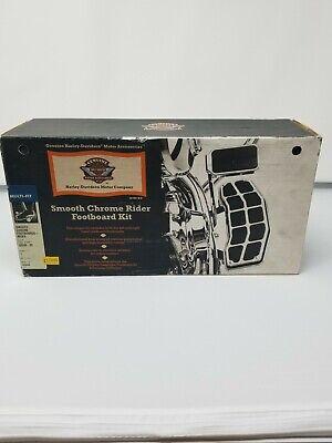 Harley Davidson Smooth Chrome Rider Footboard kit