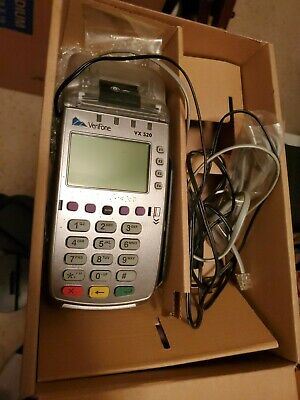 Verifone Vx 520 Credit Card Payment Terminal - Used - Includes Power Supply