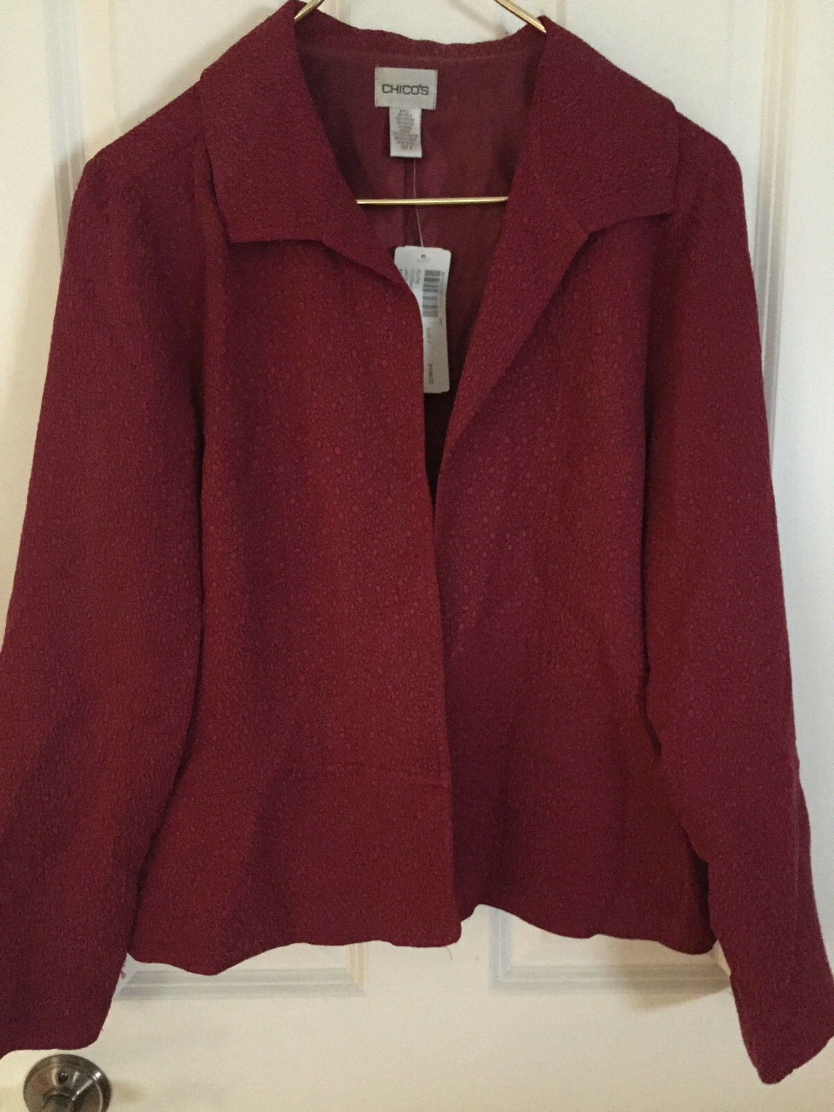 CHICO'S, WOMENS CLOTHING, SIZE 1, NEW WITH TAGS