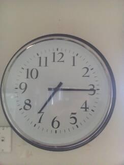 Clock black