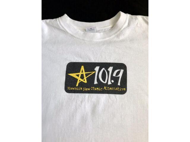 Star 101.9 Star Hawaii Radio Station T-Shirt - Large - Music Rock Cotton Muisc