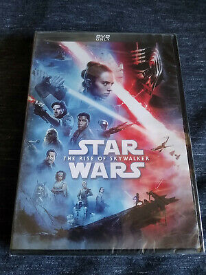 Star Wars The Rise of Skywalker (DVD, 2020) New & Sealed Free Shipping