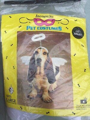 Incognito dog costume, sweet angel size - Angel Dog Costume