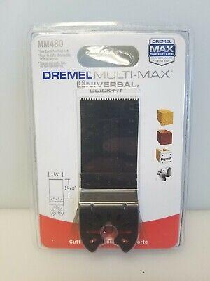 Dremel Mm480 1-14 Wood Drywall Flush Cut Blade For Multi-max Oscillating Tools