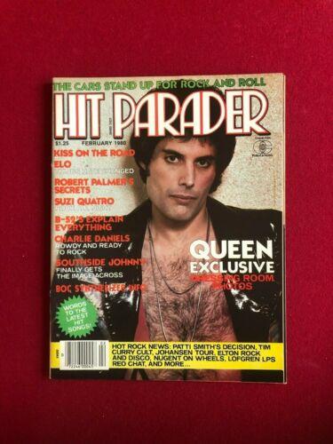 """1980, Freddie Mercury (QUEEN), """"HIT PARADER"""" Magazine (No Label) Scarce /Vintage"""