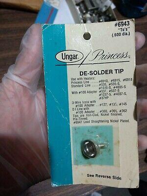 Ungar 6943 6943 Princess To De-soldering Tip For Soldering Iron