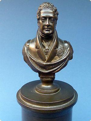 King George IV Bronze Portrait Bust c1830