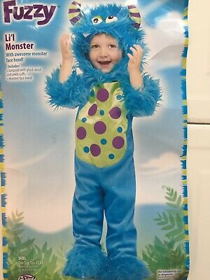 Fuzzy Li'l Monster Costume by Fun World - Fuzzy Monster Costume