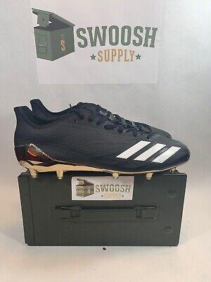 Adidas Adizero 5 Star 6.0 BW1435 NFL Black Gold White Football Cleats Size 13