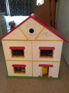 Dolls house, wooden