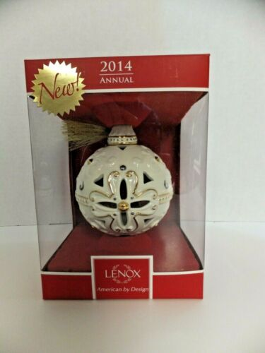 Lenox 2014 Annual Holiday Porcelain Ornament