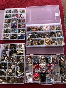 Buttons, Findings and Antique Jewelry