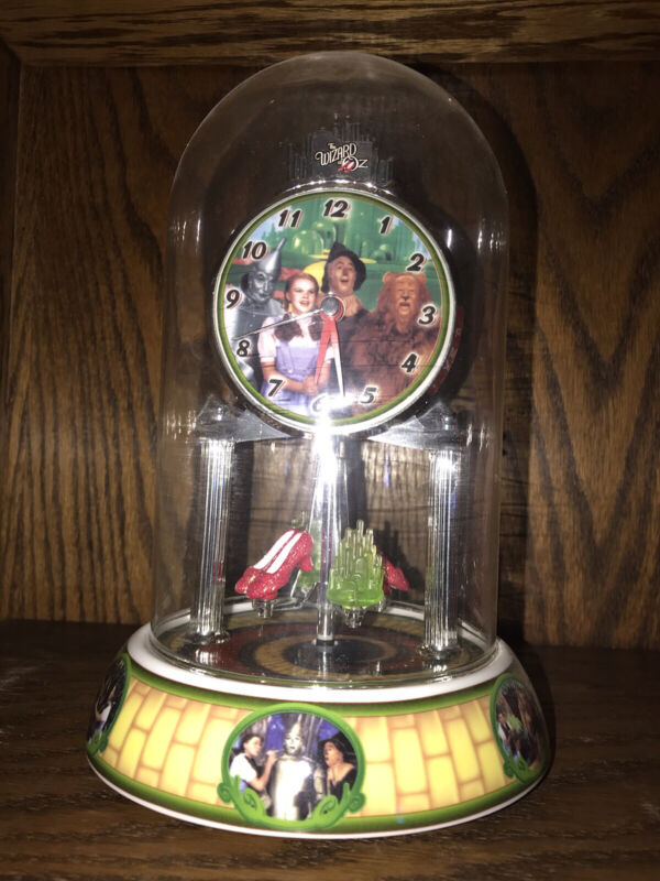 A Wizard Of Oz Glass Domed Clock