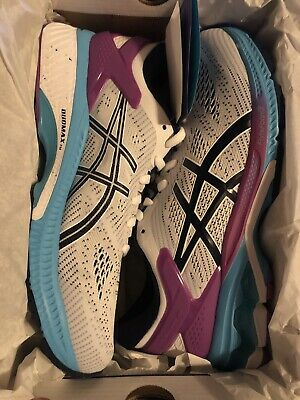 Asics Gel Kayano 26 Womens Running Shoes White Peacoat Size 8.5 1012A457-100