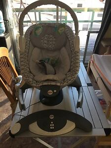 Grate condition baby swing