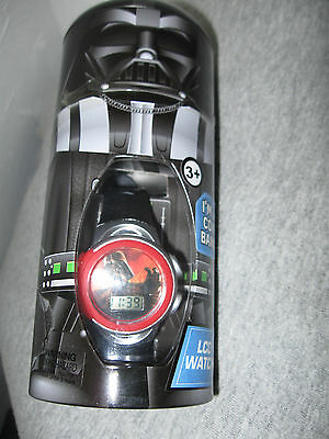 Star Wars DARTH VADER Watch w/collectible coin bank tin....Retail 25.00