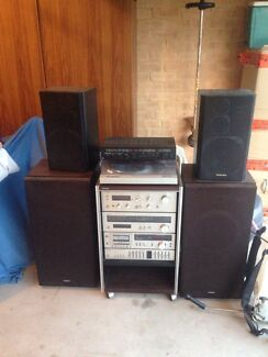 VINTAGE TECHNICS HOME STEREO SYSTEM SUIT LP RECORDS COLLECTOR Murray Bridge Murray Bridge Area Preview