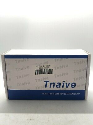 Tnaive Msr X6 Black Mini Magnetic Stripe Card Reader Writer Bluetooth