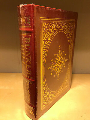 Easton Press Bunker Hill by Nathaniel Philbrick  Military Library NEW
