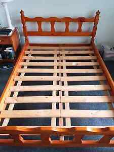Wooden double bed frame Woollahra Eastern Suburbs Preview
