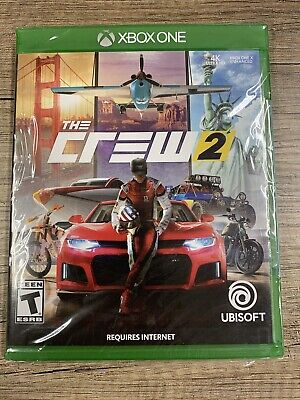 The Crew 2 Xbox One Brand New Factory Sealed Racing ... F4