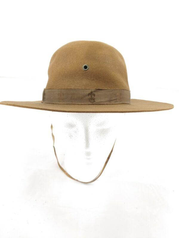 Vintage G.W. Alexander & Co Boy Scouts Of America Hat 1940 1950 fleur-de-lis