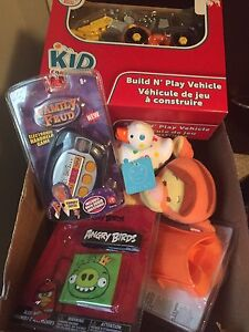 BRAND NEW BOX OF NEW TOYS ALL FOR 10.00