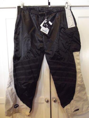 Baur Vaper 8 Black Hockey Pants Long Shell Cordura Junior Medium NWT