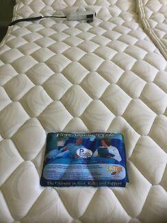 Plega Dual queen adjustable bed