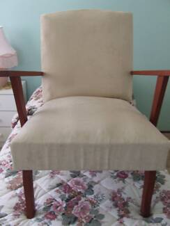 UPHOLSTERED ARMCHAIR West Tamworth Tamworth City Preview