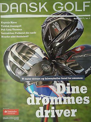 Magazin Dansk Golf ... Dänemark # März 2017 Nr. 1