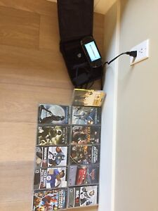 PSP Sony and games / movies