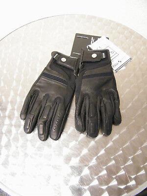 Moto Guzzi Sommer Lederhandschuhe schwarz 606683M004M Gr. XL